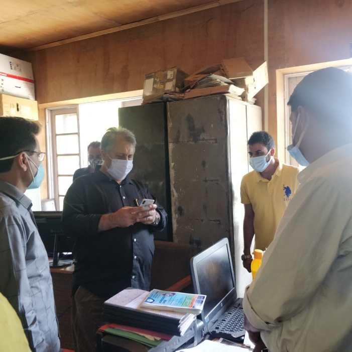 Dr Samoon visitsKashmir Government Polytechnic College,BOTE, Srinagar; Inspects functioning