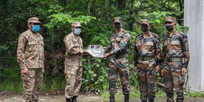 As ceasefire holds, Indo-Pak exchange sweets on borders
