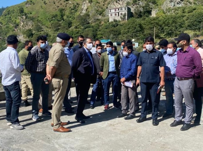 Advisor Baseer Khan visits Poonch; Inspects Development works of RDD, PDD and Tourism Department