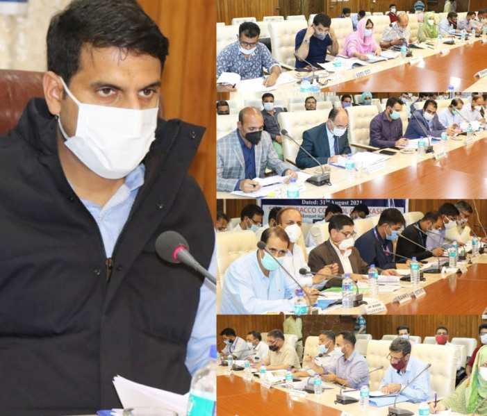 DC Srinagar chairs DLRC meet