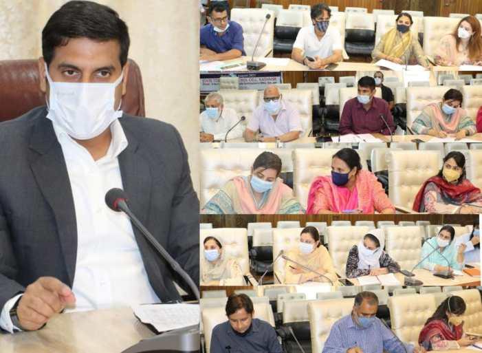 DDC Srinagar reviews progress of works under District Capex Budget
