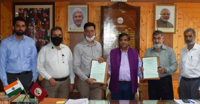 Directorate of H&H signs MOU with SKAUST