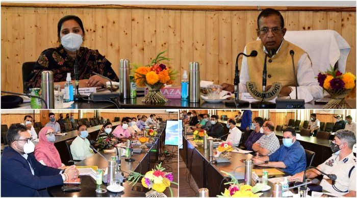 Union MOS for Industries, Commerce visits Ganderbal; Inaugurates oxygen plant and reviews developmental scenario in the district