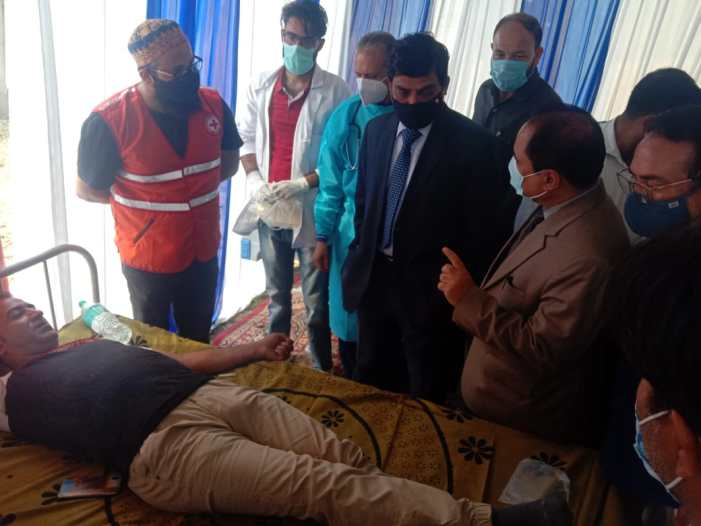 Chief Secretary inaugurates blood donation camp on National Voluntary Blood Donation Day
