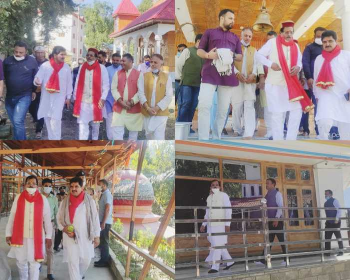 Union MoS Shripad Yesso Naik concludes two day visit to Doda district