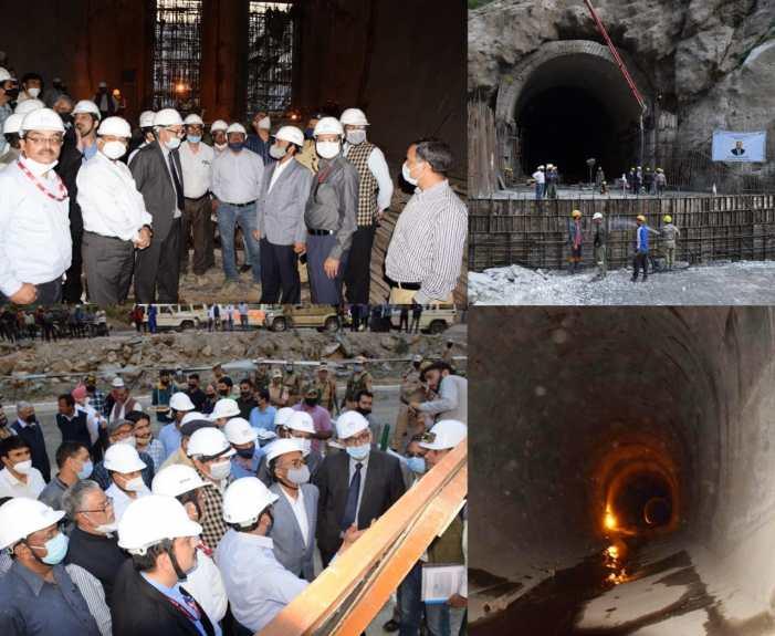 Union Power Secretary visits 1000 MW Pakal Dul HE Project at Kishtwar