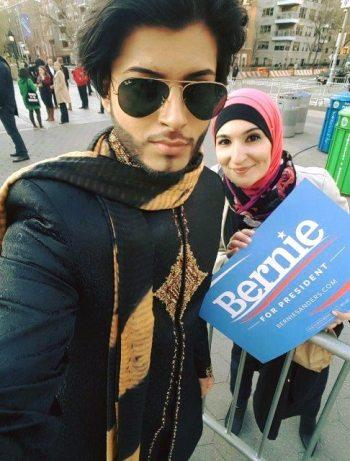 Bernie Sanders Muslim Prince Supporter
