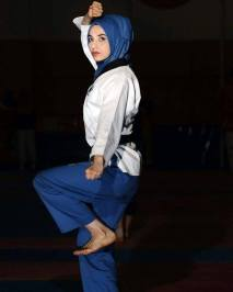 kubra dagli taekwondo hijab
