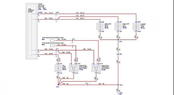 Tail Light Wiring Diagram