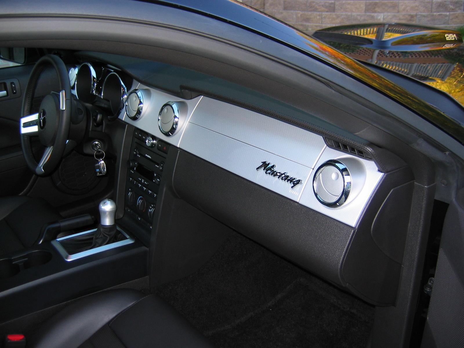 I Found This 65 66 Era Emblem Retro Dash The Mustang