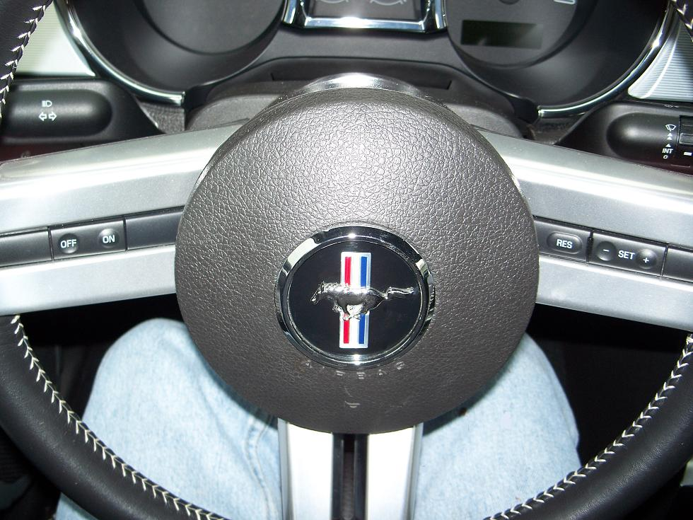 New Steering Wheel Emblem The Mustang Source Ford