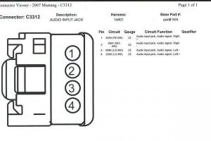 07 Ipod Aux Wiring Diagram  The Mustang Source  Ford