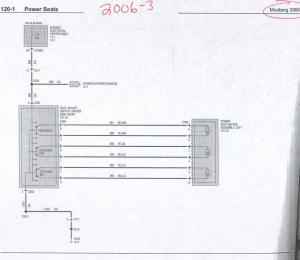 Power & Heated Seat Wiring Info 05 up  The Mustang Source