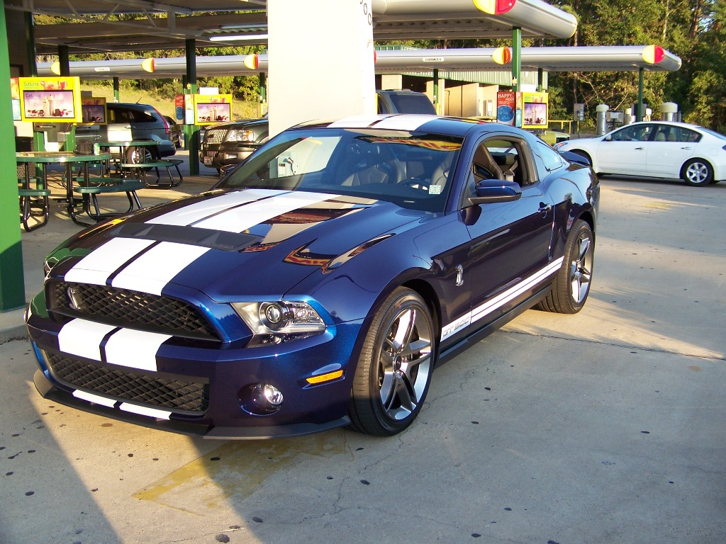 Gt 500 2011 Mustang Shelby Ford