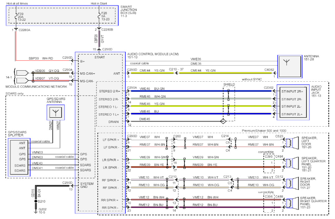 2014 f550 stereo wire diagram   29 wiring diagram images