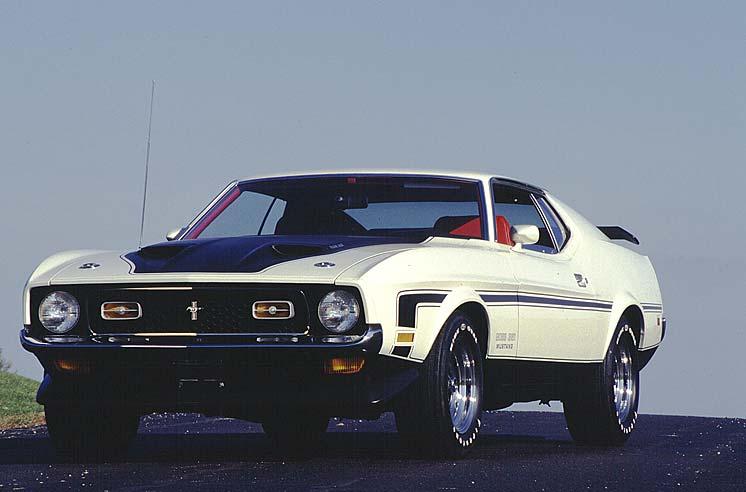1973 Mustang Black Grande