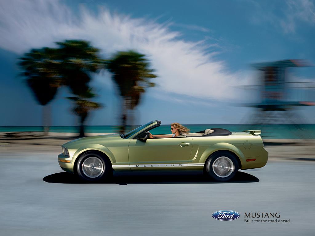 2007 Shelby Mustang Wallpaper