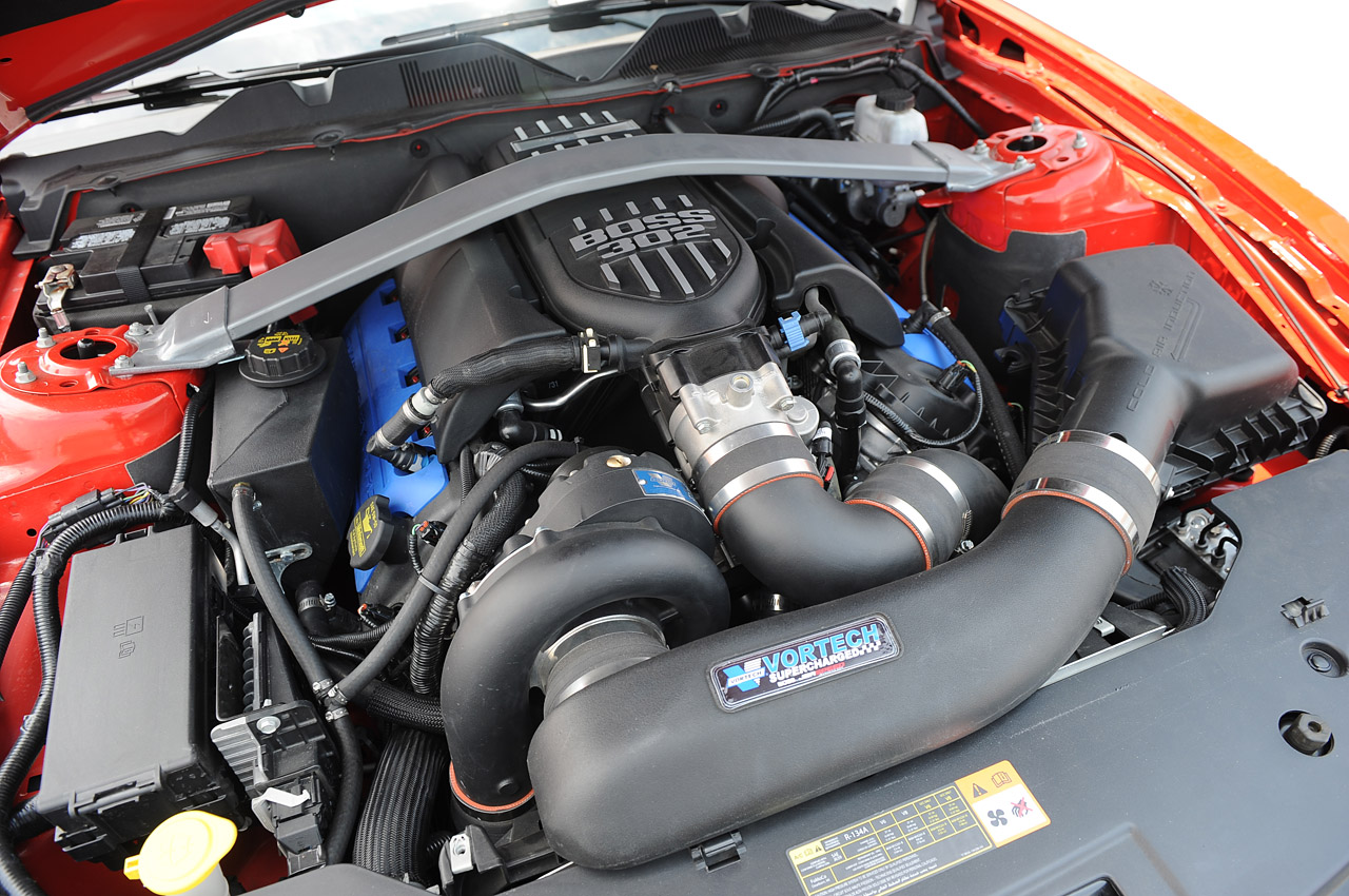 JBA and Vortech Combine Forces for Boss 302 Supercharger