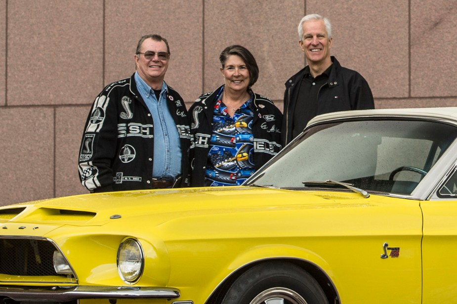 Ted Segerstrom, Rae Segerstrom and Tim Lea