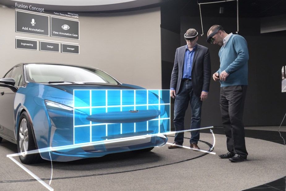 Ford holographic design