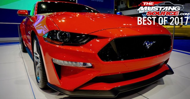 Ford Mustang 2017 Chicago Auto Show Best of 2017