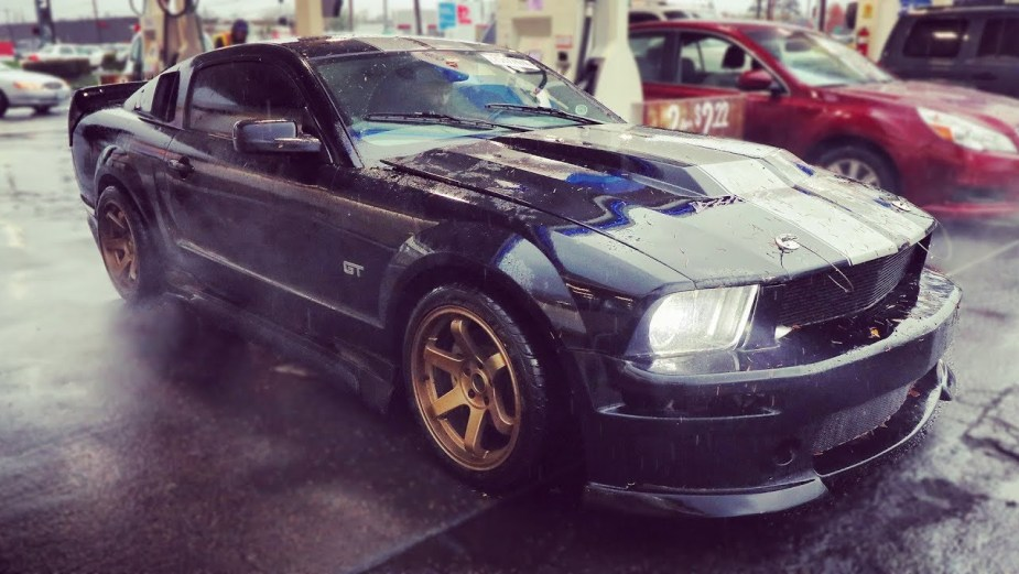 Build A Mustang >> How Not To Tune A Turbo Mustang In The Rain The Mustang Source