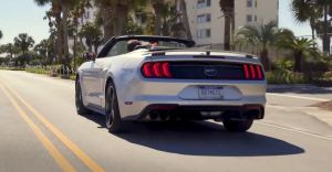 2019 Ford Mustang GT California Special - Rear View