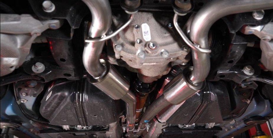 Mustang EcoBoost Roars with Borla Sport Cat-Back Exhaust