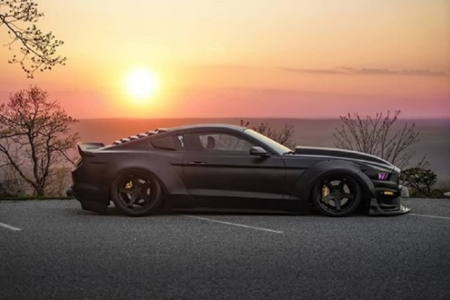 themustangsource.com Black S550 Mustang EcoBoost