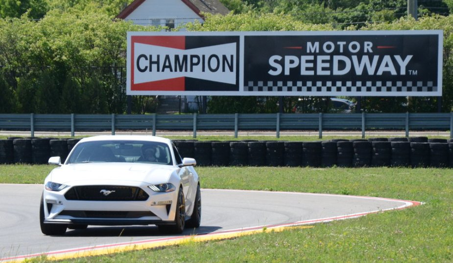 2019 Mustang GT Performance Pack 2 on the track