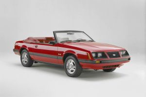 1983 Ford Mustang 5.0 Convertible.
