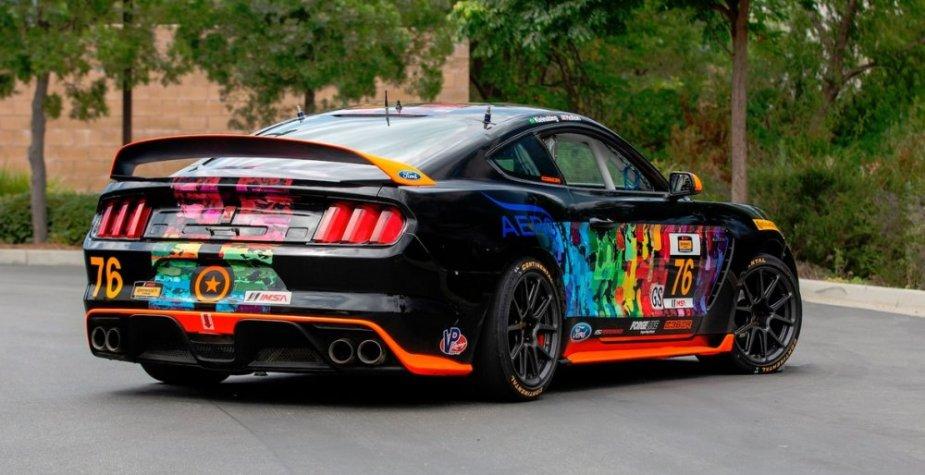 Mustang GT350R-C Rear