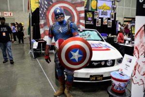 Captain America's 2007 Mustang GT