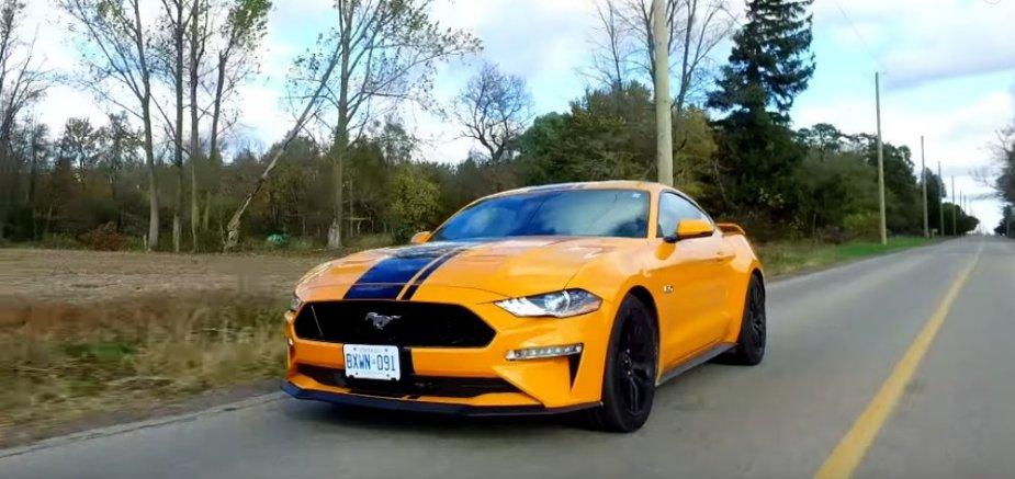 2019 Mustang GT Front Road