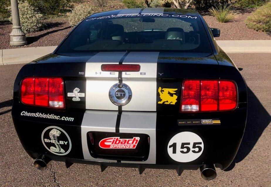 2007 Shelby GT Mustang Rear