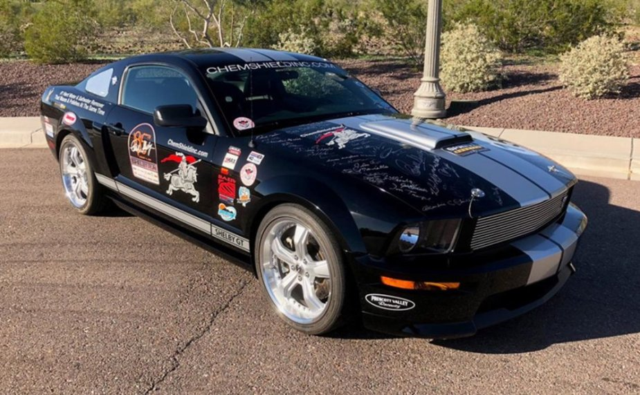 2007 Shelby GT Mustang Signed Hood