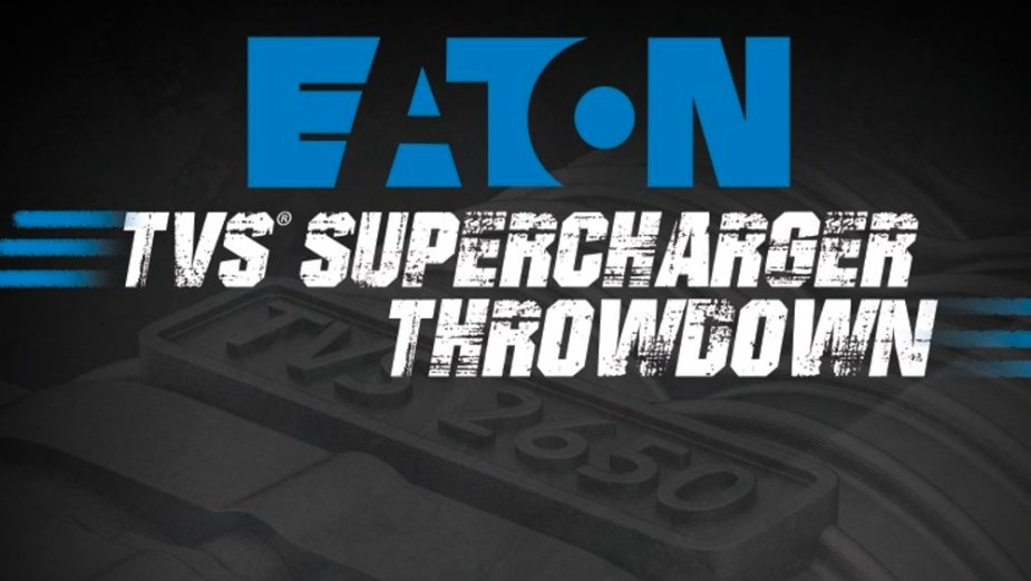 EATON TVS Supercharger Throwdown Logo