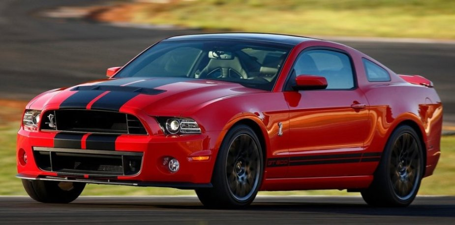 2013 GT500 Mustang