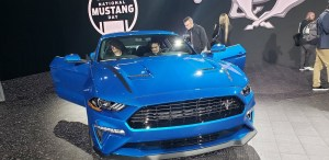 2020 Ford Mustang THE MUSTANG SOURCE - NY Intl Auto Show