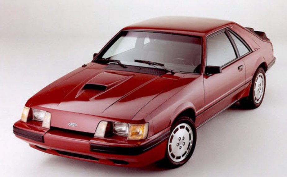 1984 Ford SVO Mustang in Red