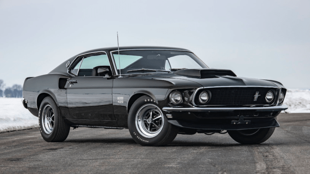 1969 Mustang BOSS 429 is a Stunning Fastback