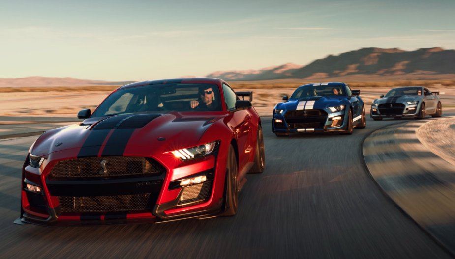 2020 Mustang Shelby Carbon Fiber Track Package