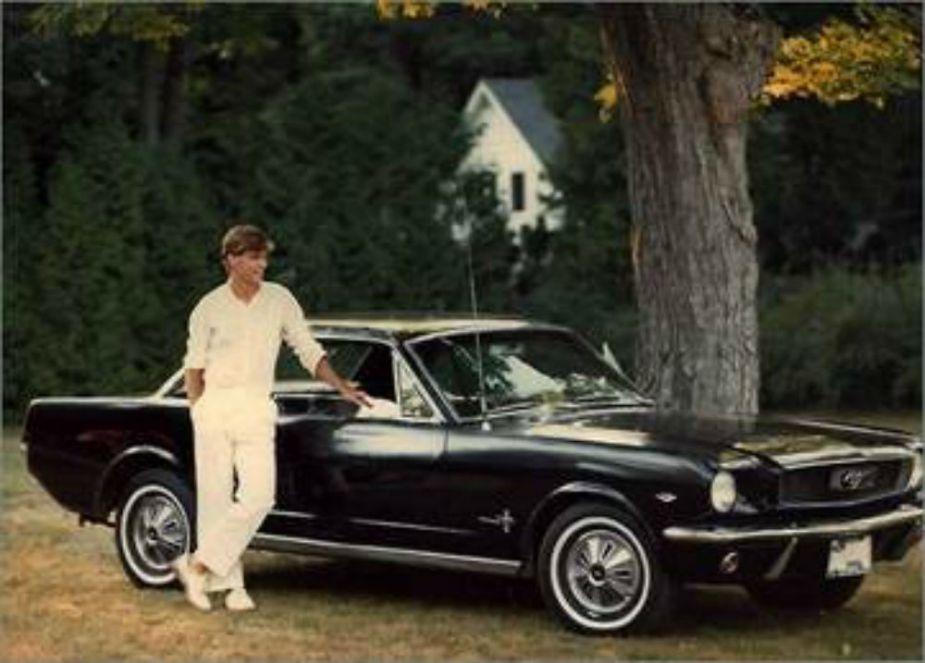 Jim Farley and his Ford Mustang