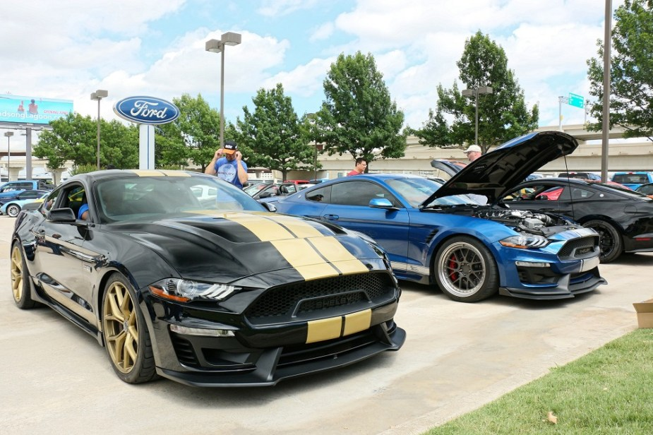 themustangsource.com Ford Mustang Shelby GT H and Super Snake Drive