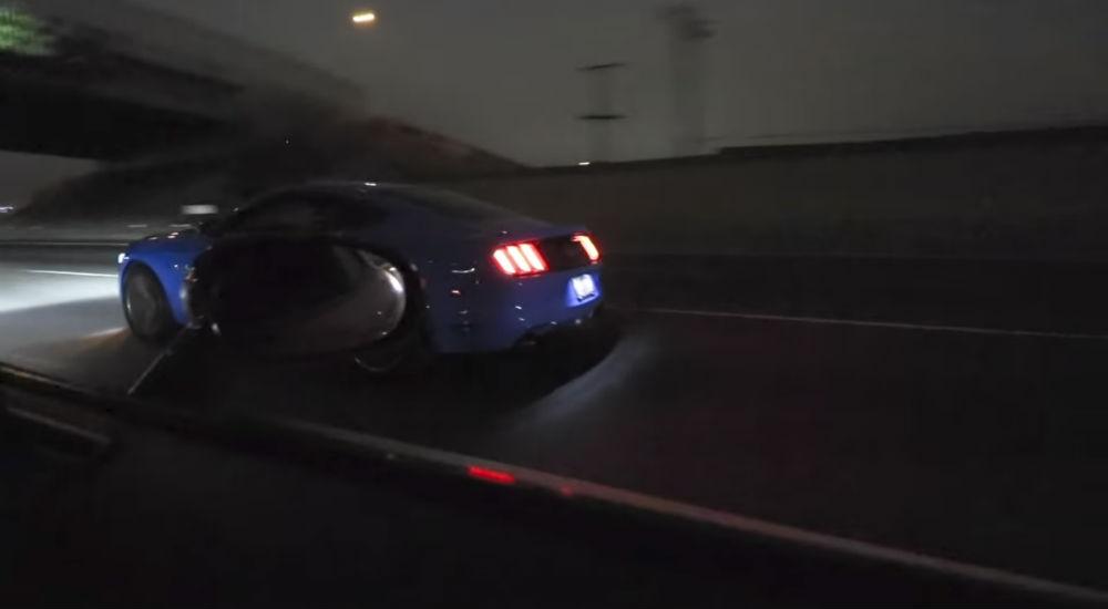 Mustang Roll Race