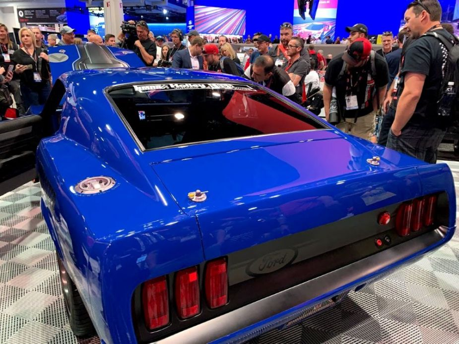 Ringbrothers' '69 Mustang Mach 1 Restomod Unveiled at SEMA ...