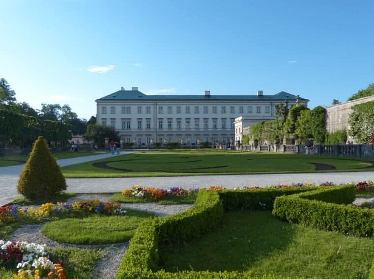Palácio e Jardins Mirabell, Áustria
