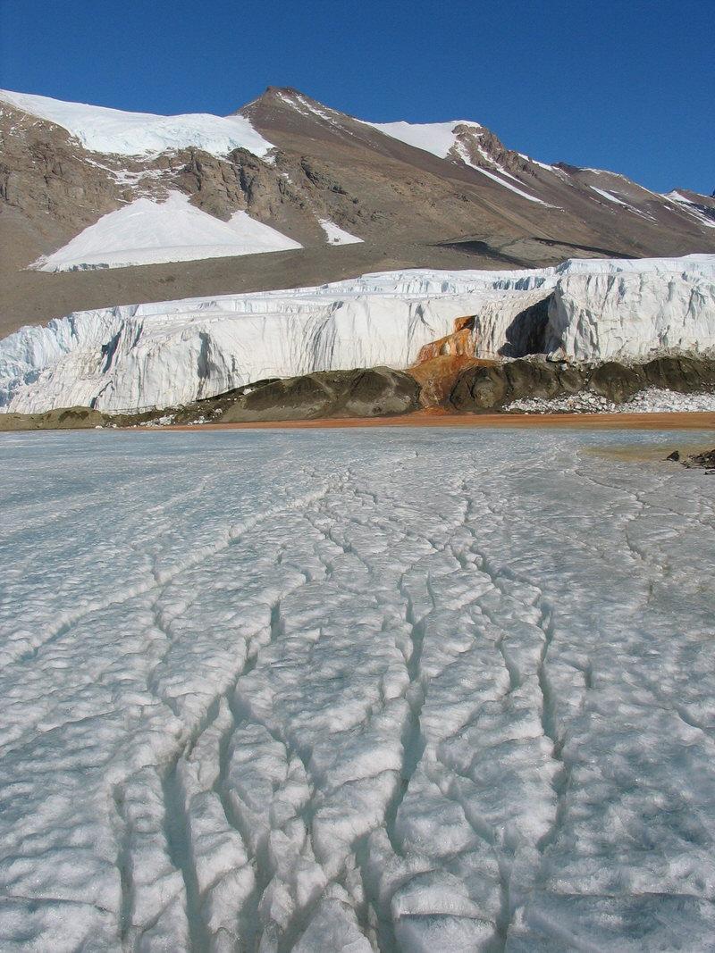 Antarctica's mysterious blood falls.