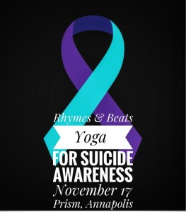 Rhymes & Beats Yoga for Suicide Awareness @ Prism Annapolis