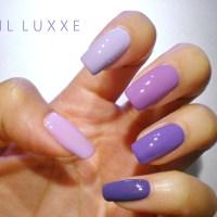 NOTD - Purple Ombre